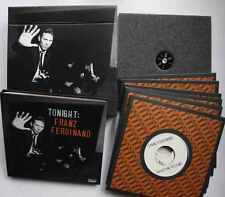 "Tonight: Franz Ferdinand Vinyl 6 X 7"" singles DVD + CD Ltd ed OOP 33 rpm"