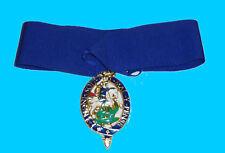 UK Britain Royal Knight Kingdom King Empire Order Garter Medal Badge St. George