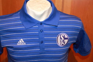 Adidas | Schalke 04 Polohemd | Königsblau | Men | Größe XS + S | NEU OVP