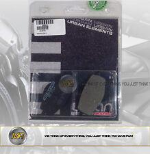 PER MBK FLAME R/F 125 DAL 1995 AL 2003 COPPIA PASTIGLIE FRENO ANTERIORI BRAKING