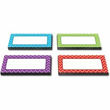 Teacher Created Resources Chevron Labels Magnet Accents - Learning Theme/subject