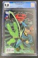 SUPERMAN BATMAN #23 CGC 9.8 1st Full Appearance Tim Drake Batman Beyond KEY BOOK