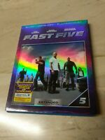 Fast Five Blu-ray Vin Diesel , Paul Walker , Dwayne The Rock Johnson