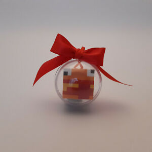 Christmas bauble Decoration / Hanging Decoration drop box fort nite burger man