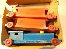 Noma 1940's Wooden Train Pull-Toy Excellent Condition with box