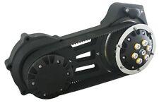 """Ultima Black Billet 2"""" Late Model Belt Drive for Harley Softail 2007-Present"""