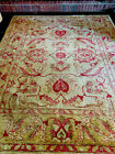 8.2 x 9.11 Gold and Rose Oriental Rug
