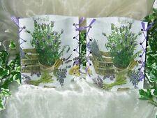 1 Wunderschönes Deko Windlicht Lavendel der Provonce Tischlicht Unikat