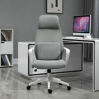 Vinsetto Office Computer Swivel Chair w/ Massage Cushion & Adjustable Seat Grey