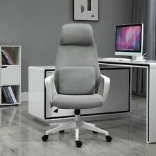 Vinsetto 921-297V80GY Computer Swivel Chair - Grey