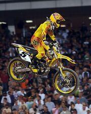 Ryan Dungey Motocross Suzuki Rider Color 8x10 Photo #1