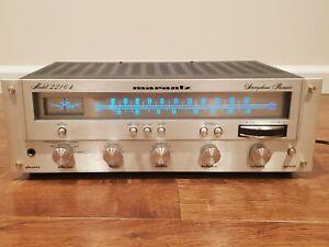 Marantz Model 2216B Stereophonic Receiver Tuner AM/FM Amplifier - Work