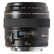 Objectif Canon EF 85mm F/1.8 Plein format Caps et Pare-soleil