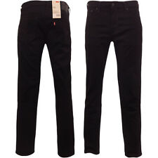 Levi's 511 Jeans Original Levi Strauss Slim Fit Black Waist 30 32 34 36