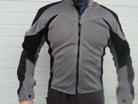 Neuf Veste moto mike the bike femme taille M demi-saison 2 poches extérieurs et