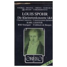 Louis Spohr: Clarinet Concertos 1 & 4 by Karl Leister from Orfeo