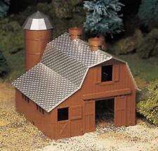 Bachmann Plasticville O Scale 45602 Dairy Barn Building Kit
