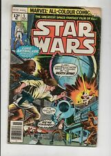 STAR WARS VOL 1 # 5 / MARVEL 1977 / V.GOOD / ROY THOMAS & HOWARD CHAYKIN.
