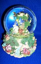"San Francisco Music Box Co Kitties on Tree: ""Summertime"""