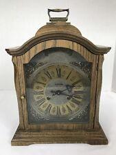 """Tempus Fugit Hermle German Mantle clock  As-is 14"""""""