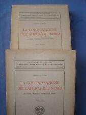 DE LEONE-COLONIZZAZIONE DELL'AFRICA DEL NORD-ALGERIA-TUNISIA-MAROCCO-LIBIA-2 VOL