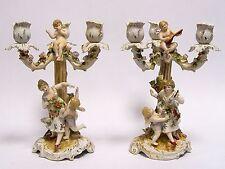 Porzellan mit Frauen-Leuchter & -Kandelaber