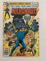 Micronauts #1 1st Team & Baron Karza Appearance 1979 Marvel, newsstand 9.2 NM-