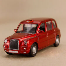 2012 London Taxi Geely Englon TX4 Red Model Car 1:36 12cm Pull Back Doors Open