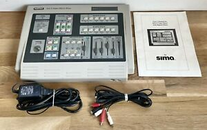 Very Nice SIMA SFX-9 Video Effects Mixer Pro Series w/Power Adapter - NR