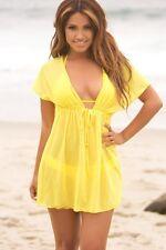 Ladies Beach dress Cover up Kaftan Sarong Summer wear Swimwear Bikini Summer US