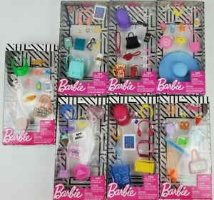 Barbie Complete Fashion Looks Accesories packs lot of 2 styles may vary