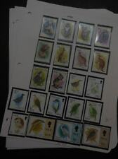 EDW1949SELL : NIUE Beautiful VFMNH collection of Cplt sets mostly Birds Cat $217