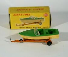 Dinky Toys GB n° 796 Bateau Healey Sports boat on trailer remorque en boîte