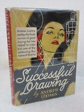 Andrew Loomis SUCCESSFUL DRAWING 1951 The Viking Press, NY First Edition HC/DJ