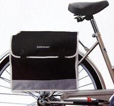 Dunlop Fahrradtasche Gepäckträgertasche Seitentasche Doppel Satteltasche