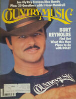 Country Music Vtg Magazine July - Aug 1981 - Burt Reynolds Dolly Parton - EX