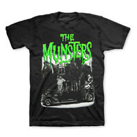 Munsters T-Shirt Family Coach Tee Universal Officially Licensed S-2XL