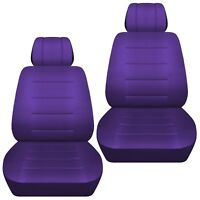 Fits 2009-2018 Honda Jazz   front set car seat covers  purple