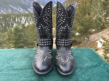 Ariat Studded Western BOOTS Women's Epic Harness Cowboy 10B Black 10012877