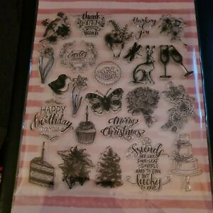 Something For All Occasions  Clear Stamps