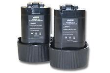 2x Akku für Makita TD090, TD090D, TD090DWE, TD090DWX 1500mAh 10.8V Li-Ion