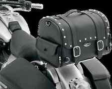 Saddlemen EX2200S Desperado studded express motorcycle tail sissy bar trunk bag
