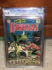 Brave and the Bold #34 CGC 6.0 DC 1961 1st Hawkman! Hawkgirl Silver! F8 978 cm