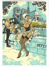 Félix Meynet – Double M – ex libris en sérigraphie