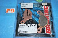 2 plaquettes de frein arrière BRAKING pour SUZUKI RM 85 2005/2015 neuf