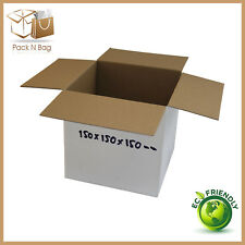 50 -150x150x150mm RSC Eco Friendly Cardboard Shipping Mailing Moving Cube Boxes