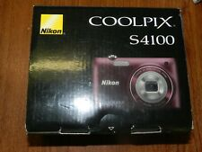NEW in Box - Nikon COOLPIX S4100 16MP Camera - PLUM - 018208262618