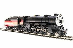 Broadway Limited 5911 HO Southern Pacific Heavy Pacific 4-6-2 Steam Loco #2486
