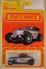 MATCHBOX Target Retro Series: #8 1933 Ford Coupe, 2021 issue (NEW in BLISTER)