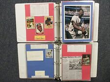 Braves(2 Notebooks/254 Pages/100  Autographs/300+ Players/Many Obits/HANK AARON)